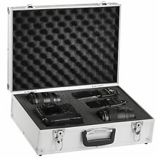 Solidguard Pro Camera Aluminium Case Padded For Digital SLR 46x34x15cm Silver