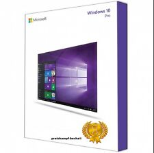 Microsoft Windows 10 Pro Vollversion ✔AKTION 32 & 64 Bit Product-Key OEM Lizenz