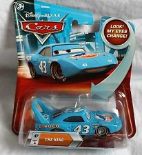 Disney Pixar Cars Lenticular Eyes The King #47 Die Cast Car NEW 2010 Eyes Move