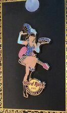 Hard Rock Cafe GUATEMALA CITY 2013 BURLESQUE Girl Series PIN Guitar LE200 #74552