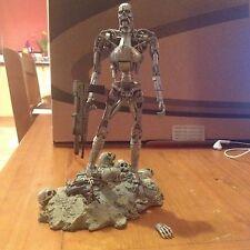 """Terminator T-800 resistencia 7"""" figura T2 Arnold Schwarzenegger Raro Neca 2006"""