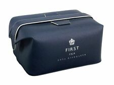 ANYA HINDMARCH 1ST CLASS British Airways BA amenity flight kit bag makeup blue
