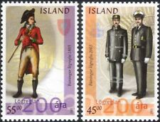 Iceland 2003 Police Force 200th Anniversary/Law/Order/Uniforms/History 2v is1032