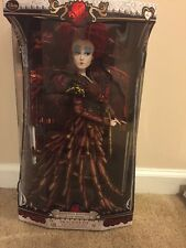 DISNEY Alice Through The Looking Glass Red Queen Limited Edition Doll In Hand