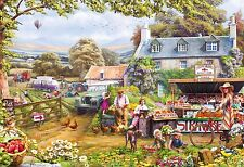 NEW! Gibsons Pick Your Own by Mat Edwards 500 piece nostalgic country jigsaw