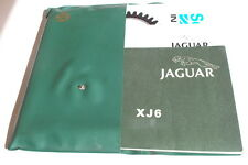 JAGUAR  XJ 6 Betriebsanleitung 1979 inkl. Wartungs Handbuch / inkl. Bordmappe BA
