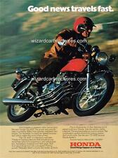 1975 HONDA CB 400F FOUR USA MOTORCYCLE A3 POSTER AD ADVERT ADVERTISEMENT