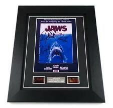 JAWS Signed PREPRINT JAWS Film Cell Framed JAWS MOVIE MEMORABILIA SHARK GIFTS