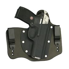 FoxX Holsters Leather & Kydex IWB Hybrid Holster Ruger P345 Black Right Tuckable