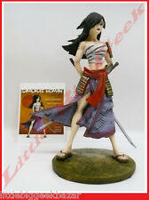 GUERRIERE Samourai Statue Remi Bostal Pin Up Sexy War Girls Resine BD # NEUF #