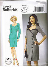 Easy Vintage 50s Retro Wrap Dress Sewing Patterns by Gertie Size 14 16 18 20 22