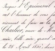 Anne Cécile Charlier Michel Pelletier De Saint Michel 1860