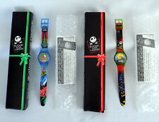 Nightmare Before Christmas Burger King Watches 1993 Christmastown & Pumpkins NEW