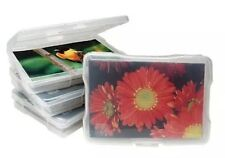 "IRIS 4"" x 6"" Photo Storage and Craft Case, 5 Pack, Clear"