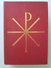 Antique Catholic Roman Missal in Latin & English 1964 Benziger Brothers