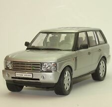 Welly Klassiker Land Rover / Range Rover in silber lackiert, 1:18, OVP, 030