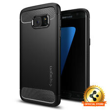 Spigen® [Rugged Armor] Shockproof Cover Slim TPU Case For Samsung Galaxy S7 edge