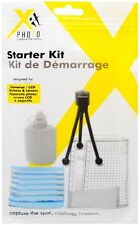 XIT 6 piece Starter Kit w/Cleaning Cloth/Lens Cleaning Fluid etc