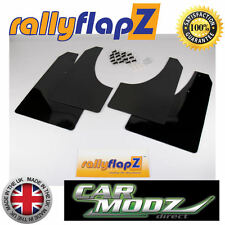 Mud Flaps FORD FOCUS ST 225 Mk2 Mudflaps RallyflapZ in 3mm Black PVC Rally