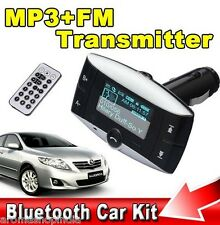 Wireless Bluetooth Car Kit,1.5 Inch LCD,Handsfree MP3/FM Player BEST PRICE@ EBAY
