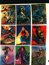 1994 Fleer Ultra X-men Complete 150 Card Set Near Mint Condition