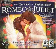 ROMEO & JULIET Hidden Object  Collectors Edition PC Game CD-ROM NEW