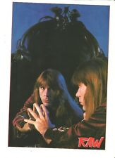 IRON MAIDEN Bruce reflects magazine PHOTO / mini Poster 11x8""