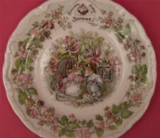 ROYAL DOULTON BRAMBLY HEDGE SUMMER THE AFTERNOON TEA PLATE BOXED