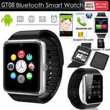 Bluetooth GT08 Smart Watch For Android Sony HTC Samsung Phone + Camera SIM Slot
