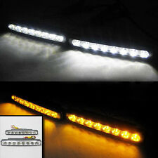 8 Led Daytime Running Lights Indicator Drl For Toyota Yaris Auris Avensis