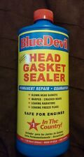 Head Gasket Sealant Blue Devil Permanent Sealer 32 oz BRAND NEW BOTTLE!!!