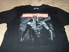Batman vs Superman Men's Dawn of Justice Black DC Comics T-Shirt Size Large L