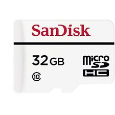 New SanDisk 32GB High Endurance Video Monitoring Micro SDHC Memory Card 20MBs