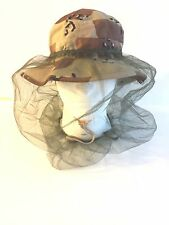NEW GOVERNMENT ISSUE BOONIE HAT INSECT HEADNET