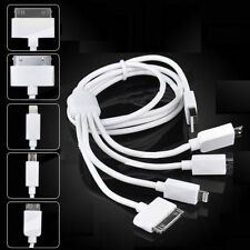 4 in 1 MULTI USB CHARGER CABLE LEAD FOR iPHONE,SAMSUNG,HTC,MOTO,SONY,ETC..