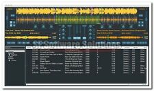 Profesional Dj software de mezclas de Suite Cd. digitalmente Mix Mp3 Live. Auto bpm&m Mineral