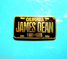 JAMES DEAN license plate - hat pin , lapel pin , tie tac , hatpin GIFT BOXED