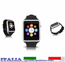 Smartwatch smartPhone Bluetooth Orologio Telefono Android IOS sim camera iwatch