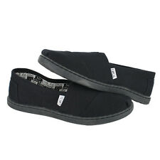 Toms Youth Classic 12001C13 All Black Kids US size 1, 19.7 CM