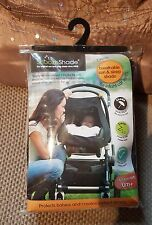 SnoozeShade Classic Infant Car Seat/Baby Carrier Sunshade Sleep Aid UV Cover NEW