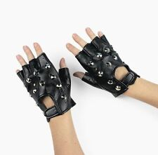 Rock Star Studded Fingerless Gloves 1 pair (14342)