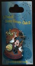 DLR - Piece of Disney History - Club 33 - LE 1000 Disney Pin 107832