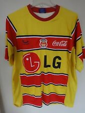 Vintage Club Atlético Monarcas Morelia Merch Futbol Soccer Jersey Men 42 Mexico