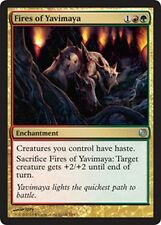 4x Fuochi di Yavimaya - Fires of Yavimaya MAGIC DD HvM Heroes vs. Monsters Eng