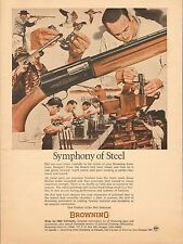 Vintage 69 magazine ad 817 Browning Arms Co. Canada Symphony of Steel ad only