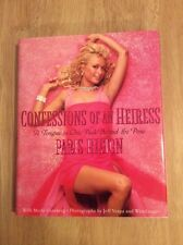 SIGNED Paris Hilton Confessions of an Heiress : A Tongue-in-Chic Peek Behind Pic