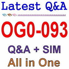 The Open Group TOGAF 9 Combined Part 1 and Part 2 OG0-093 Exam Q&A PDF+SIM