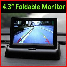 """4.3"""" TFT 16:9 Foldable LCD Screen Monitor for Car Rear Reverse Rearview Camera B"""