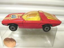 LESNEY MATCHBOX MB40 RED VAUXHALL #40 YewWins UnPntBase Dot- Whls*