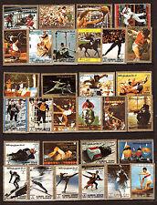 AJMAN Toutes les disciplines du sport aux J.O d'hiver et d'été  F7